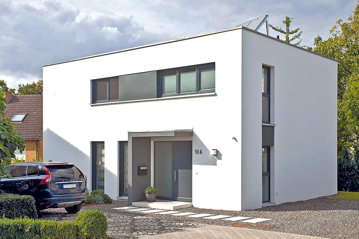 Bauhaus 155 Ein Flachdachhaus Grundriss Von Nurdahaus