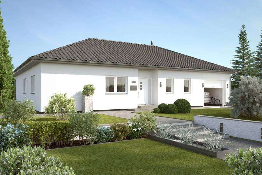 bungalow bu 141 winkelbungalow massiv bauen in hannover. Black Bedroom Furniture Sets. Home Design Ideas