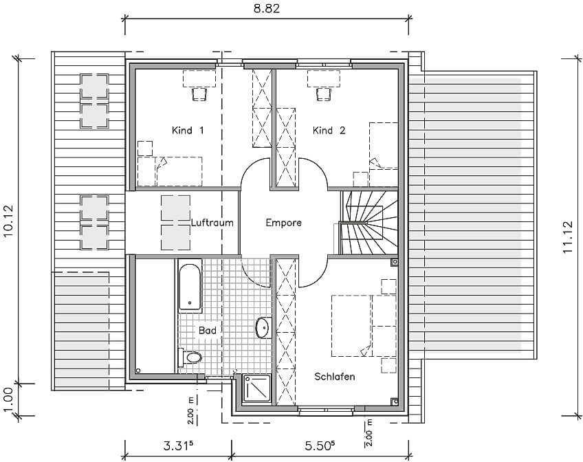 Studiohaus 154 Ein Pultdachhaus Grundriss Von Nurdahaus Mit Uber